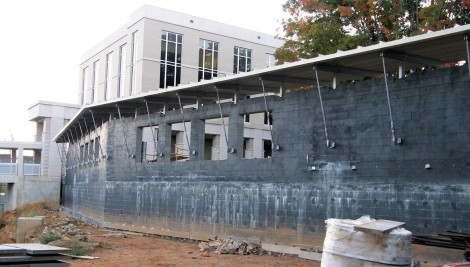Renovations to Haywood County Courthouse