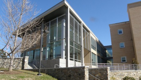 UNCA Rhoades Hall